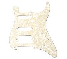 Genuine Fender H/S/S White Pearl Stratocaster/Fat Strat Pickguard 099-1338-000