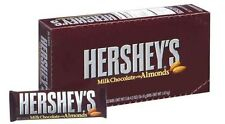 Hershey Milk Chocolate with Almonds 36 bars American Candy