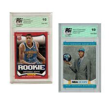 Anthony Davis 2012 NBA Hoops #275 & Panini Short Print #29 Rookie Cards PGI 10