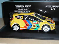 1/18 FORD FIESTA RS WRC STOBART- H SOLBERG / I MINOR WALES RALLY GB 2011