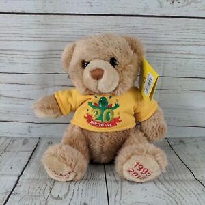 Legoland Windsor Souvenir Teddy 20th birthday Bear Soft Toy BNWT LTD EDITION