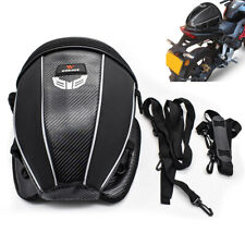 Waterproof 15L Scooter Rear Seat Tail Bag Luggage Storage Case Shoulder Backpack