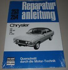 Reparaturanleitung Chrysler 160 / GT / 180 / 2 Liter Baujahre 1970 - 1981 NEU!