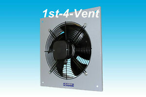630mm PLATE AXIAL EXTRACTOR FAN, 1 PHASE, 4 Pole, Commercial Kitchen, Livestock