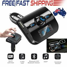 Bluetooth Wireless FM Transmitter Modulator Car Kit Mp3 Player Dual USB Charger