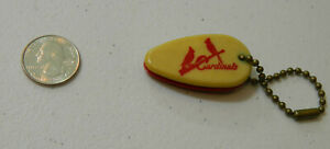 Rare 1950's St Louis Cardinals Logo Enos Slaughter Key Chain Keychain