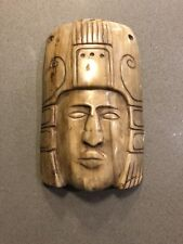 Antique Hand Carved Hanging Wall Mask