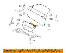 Infiniti NISSAN OEM 09-13 G37-Outside Exterior Door Handle 80640JU60A