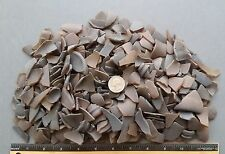"BEACH SEA GLASS - Frosted Amber  Brown -  Craft Glass - 2lbs  1/2"" - 1 1/2"" size"