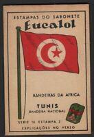 Flag of Tunisia - Tunis c1949 Trade Advertising Card Africa Islam