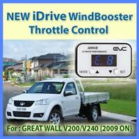 NEW IDRIVE WINDBOOSTER THROTTLE CONTROL for GREAT WALL V200/V240 2009 ON