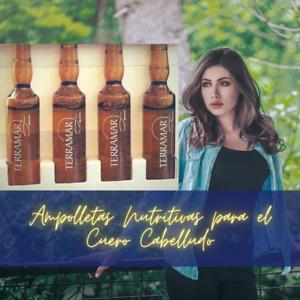 Ampolletas Nutritivas para el Cuero Cabelludo by Terramar Brands