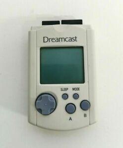 Official Sega Dreamcast Visual Memory Unit White Clear Green VMU HKT-7000 GAMEXT