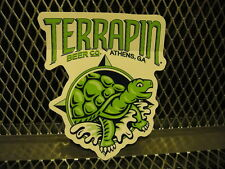 TERRAPIN BEER CO Athens GA BREWERY ~ NEW ~ Die Cut Decal Sticker