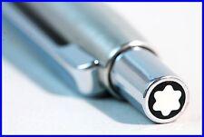 MONTBLANC  Kugelschreiber SL Serie in Stahl & Chrom  / double star Ballpoint Pen