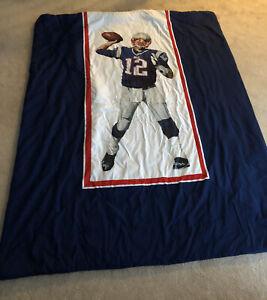 New England Patriots Tom Brady Twin Bed Comforter