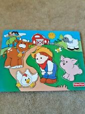 Fisher Price Farm Wooden Puzzle