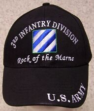 Embroidered Baseball Cap Military Army 3rd Infantry Division NEW 1 size fits all