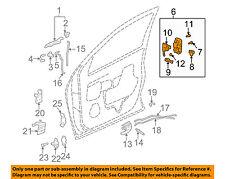 GM OEM Front Door-Lock Latch Kit 88981043