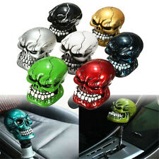 Universal Skull Head Style Car Truck Manual Stick Gear Shift Knob Lever Shifter