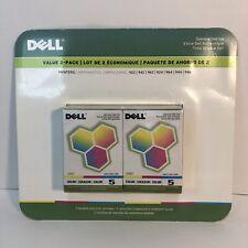 Dell Printer Color Ink, 2 Pack, Model 5, J5567, 922, 942, 962, 924, 964, 944/6