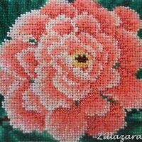 Blume Kinder Motiv Perlenstickbild Stickbild Perlen Preciosa Stickpackung 586