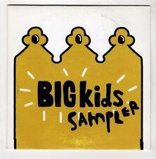 (GL29) Big Kids, 5 track sampler - DJ CD