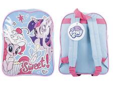 Kids Childrens My Little Pony PVC Printed Backpack School Travel Rucksack Bag