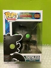 How to Train Your Dragon 3 Toothless 686 FUNKO POP Vinyl + Pop Protector