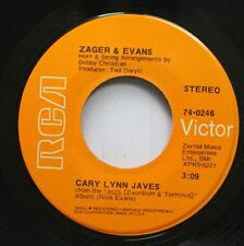 Rock 45 Zager & Evans - Cary Lynn Javes / Mr. Turnkey On Rca