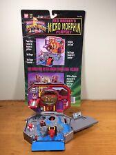 Mighty Morphin Power Rangers MMPR Red Ranger's Micro Morphin Playset Bandai 1995