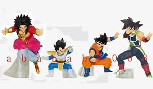 BANDAI DRAGON BALL Z figure Super VS Series 16 gashapon (full set of 4 figures)