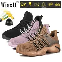 Men's Light Work Safety Shoes Indestructible Steel Toe Cap Ankle Boots Sneakers