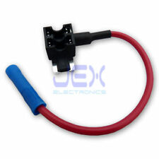 Low Profile Mini Blade Fuse Tap/Breakout Holder Add a Circuit for Car/Motorcycle