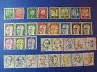LOT 654 TIMBRES STAMP DIVERS ALLEMAGNE FEDERALE ANNEE 1953 - 1997