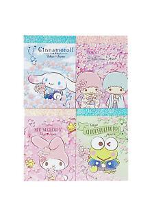 Sanrio Character Mini Memo Pad Set of 4 Japan Limited Edition 2