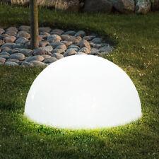 LED Außen Solar Lampe Garten Terrassen Strahler Leuchte Kugel Weg Beleuchtung