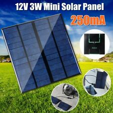 12V 5.7'' Mini Power Solar Panel Module Systerm For Battery Cell