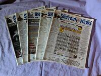Shotgun News Magazine Back Issue Lot of 5 (Vol. 64 Issues 17 18 19 20 22 - 2010)