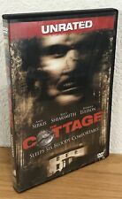 THE COTTAGE (DVD, 2008) UNRATED EDITION Region 1 DISC IS PRISTINE! SEE PICS!