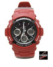 NEW CASIO G-SHOCK AW591 AW591RL-4A RED BLACK MEN SPORTS WATCH Retail $495.00!!!