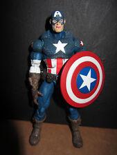 Marvel Legends Ultimate Captain America Toybiz Series 8 loose no base
