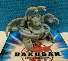 Bakugan Blade Tigrerra Grey Haos Bakupearl 440G Green Eye & Cards