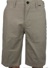 "Hurley Men's Tan Westport Nike Dri-Fit 21.5"" Flat Front Walk Shorts MWS0005400"