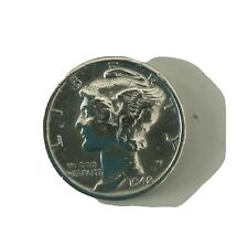 90% Silver Mercury Dime 1942 Winged Liberty Head * Excellent Us Coins