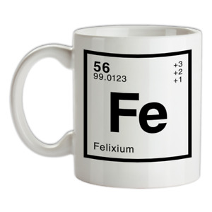 FELIX - Periodic Element Mug - Surname - Family - Name - Tea - Coffee