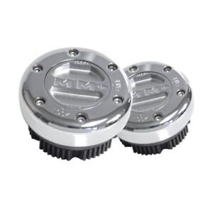 Mile Marker 449SS Supreme Manual Locking Hub Set of 2 for 1978-1987 Chevy GMC