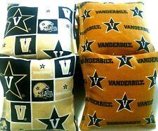 Vanderbilt Commodores Cornhole Bags Set of 8, Top Quality, Free Shipping