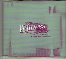 (DR433) Witness,  You Are All My Own Invention - 2001 DJ CD