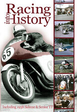 Motorcycle Racing Into History 1958-62 DVD Sidecar Senior TT MV Norton AJS  *NEW